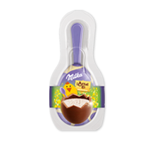 Milka Löffel-Ei Single Milchcrème 34g