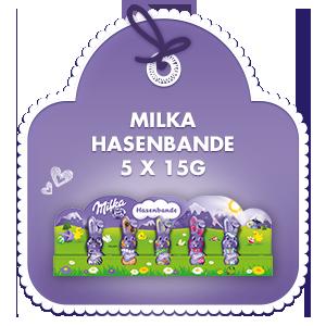 Milka Hasenbande 5x15g