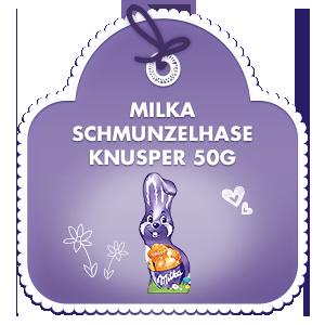 Milka Schmunzelhase Knusper 50g