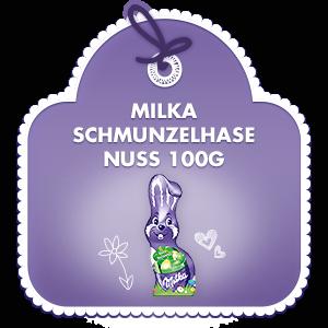 Milka Schmunzelhase Nuss 100g