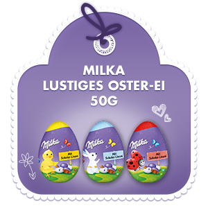 Milka Lustiges Oster-Ei 50g