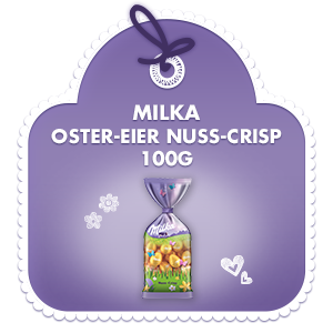 Milka Oster-Eier Nuss-Crisp 100g