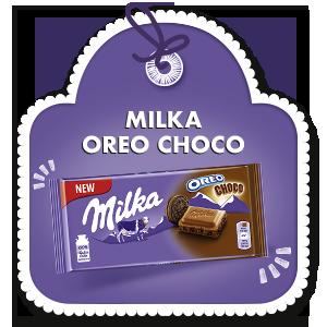 MILKA OREO CHOCO 100g
