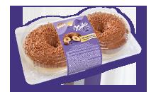 Milka Donut gefüllt