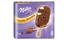 Milka Crunchy Chocolate Stieleis