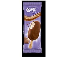 MILKA Chocolate & Vanilla Stieleis für unterwegs