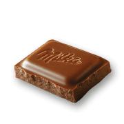 Milka Chocolate - Vanilla & Chocolate - Vanilla and Rice Crispies Mini Stieleis