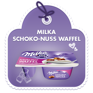 Schoko-Nuss Waffel & Joghurt fein gesüsst