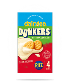 Dunkers with Ritz Crackers