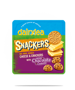 Snackers with Mini Chocolate Cookies