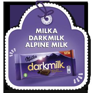MILKA DARKMILK ALPINE MILK 85g