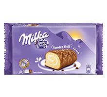 Milka Tender Roll au lait