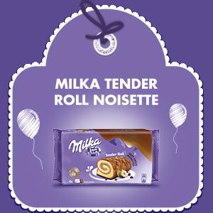 MILKA TENDER ROLL GOÛT CHOCO-NOISETTES