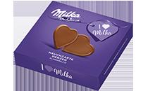 I love Milka Hauchzarte Herzen Alpenmilch
