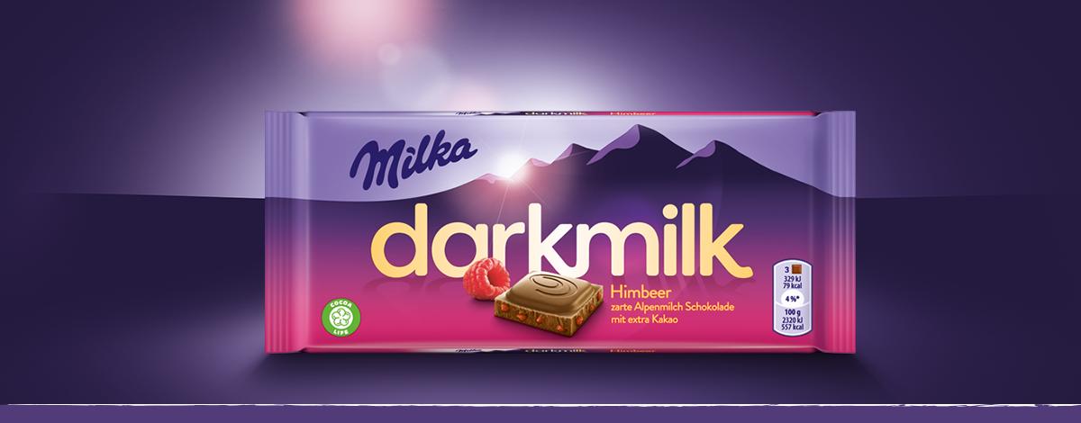 Milka Dark Milk Himbeer