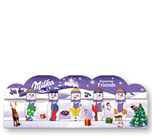 Milka Snowman Friends 5x15g