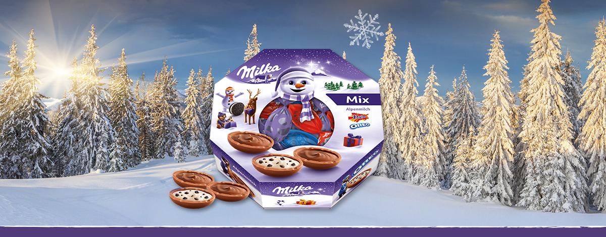 Milka Bonbons Mixbox 144g