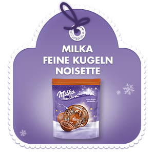 Milka Feine Kugeln Noisette 90g