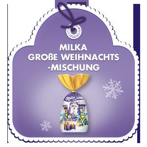 Milka Große Weihnachts-Mischung 205g