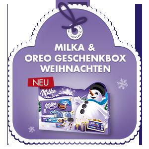 Milka & Oreo Geschenkbox Weihnachten 182g