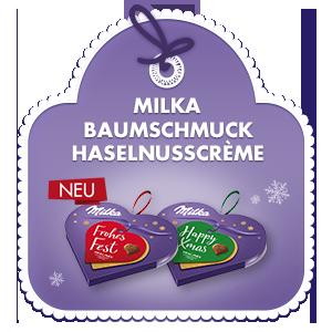 Milka Baumschmuck Haselnusscrème 44g