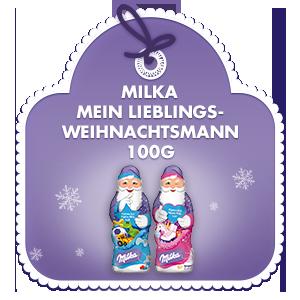Milka Mein Lieblings-Weihnachtsmann 100g