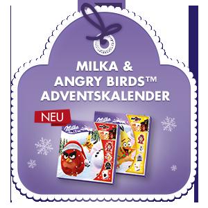 Milka & Angry Birds™ Adventskalender 143g