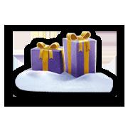 Milka Weihnachtspralinen Haselnusscrème 110g