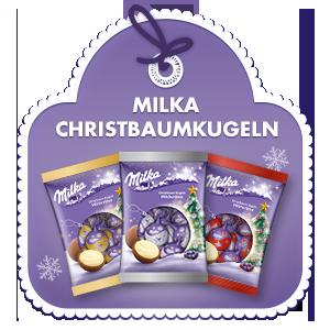 Milka Christbaumkugeln 90g