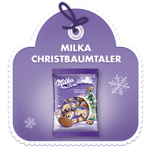 Milka Christbaumtaler 108g