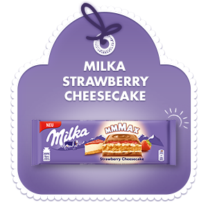 Milka Mmmax Strawberry Cheesecake
