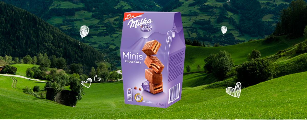MILKA MINI CHOCO CAKE