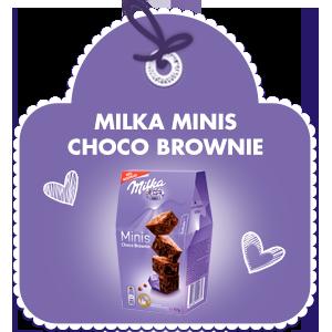 MILKA MINI CHOCO BROWNIE