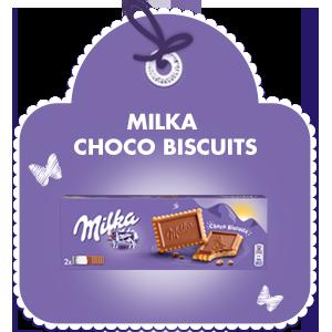 MILKA CHOCO BISCUIT