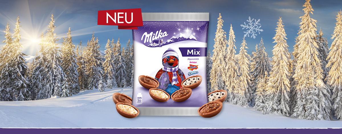 MIlka Bonbon Mischung Weihnachten 132g