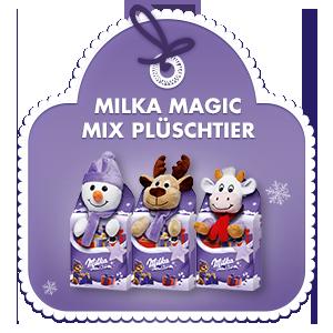 Milka Plüschtier Magic Mix 96g