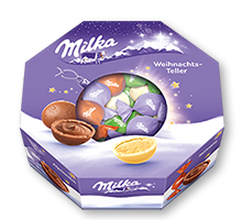 Milka Weihnachts-Teller 141g