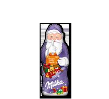 Milka Weihnachtsmann Knusper 50g