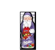 Milka Weihnachtsmann Daim 50g