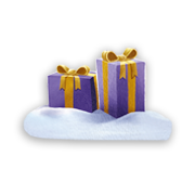 Milka & Angry Birds™ Mini Snowball Geschenk 63g