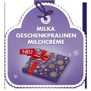 Milka Geschenkpralinen Milchcrème 110g