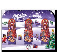 Milka Krampus Alpenmilch 3x15g