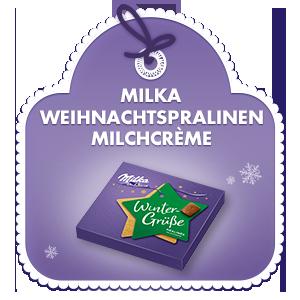 Milka Weihnachtspralinen Milchcrème 110g