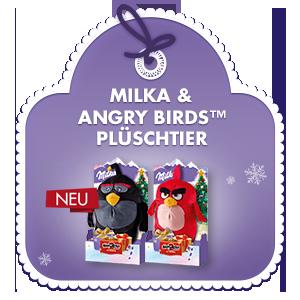 Milka & Angry Birds™ Plüschtier 83g