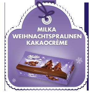 Milka Weihnachtspralinen Kakaocrème 350g