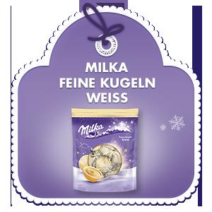 Milka Feine Kugeln Weisse 90g
