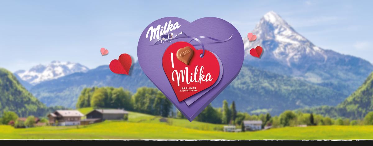 I LOVE MILKA 165 g