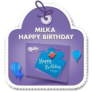 MILKA HAPPY BIRTHDAY 110g