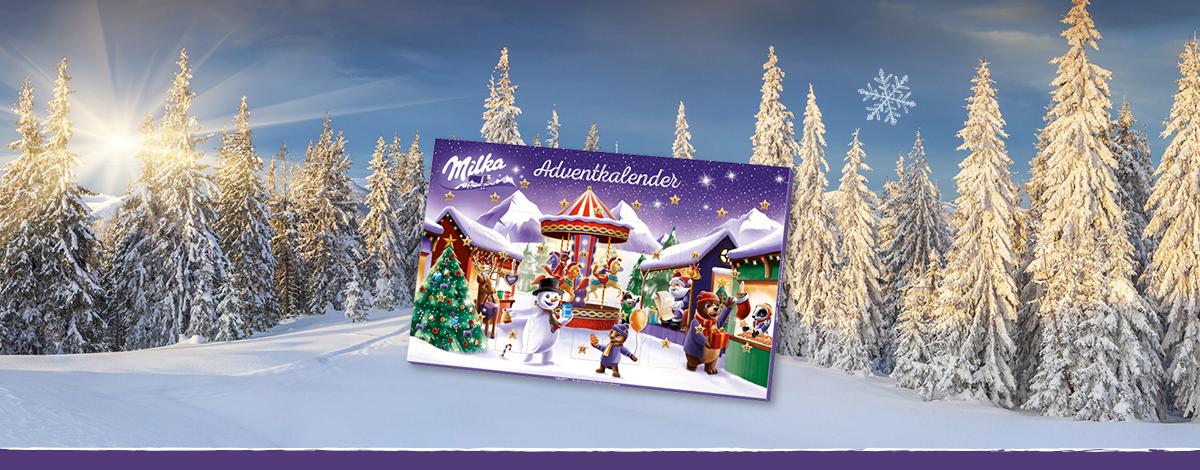 Milka Adventkalender mit Naps 119,6g