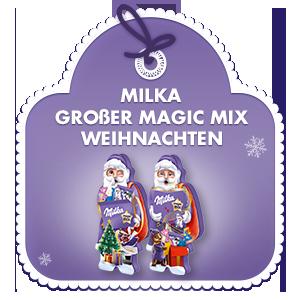 Milka Großer Magic Mix Weihnachten 124g